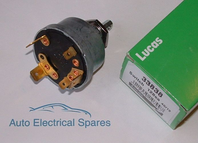 Lucas Tractor Ignition Switch Wiring Diagram